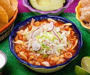 food, mexico, and pozole image