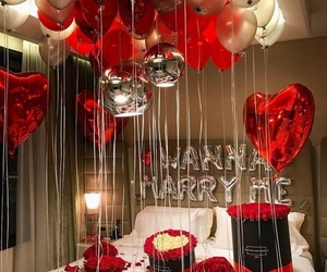 love, goals, and balloons image
