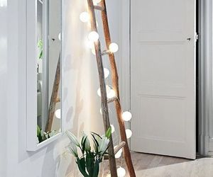 tree, decor, and ladder image