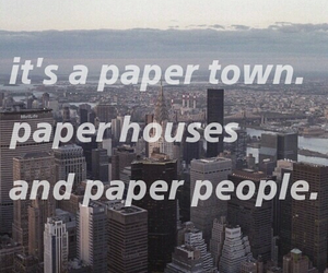 john green, Paper, and quotes image