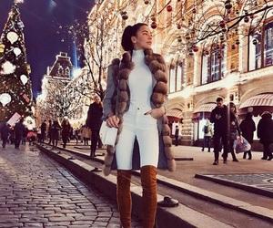 christmas, evening, and fashion image
