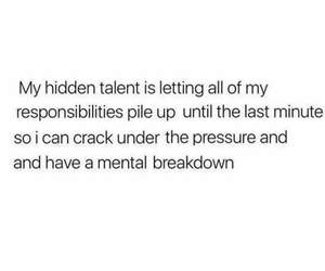hidden, talent, and responsibility image