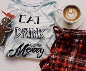 christmas, coffee, and style image