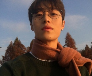 boy, glasses, and ulzzang image