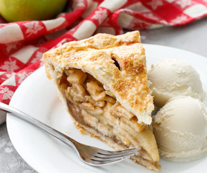 apple, desserts, and food image