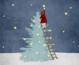 stars and christmas image