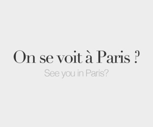 paris, quotes, and french image