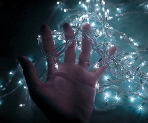 fairy, light, and lights image