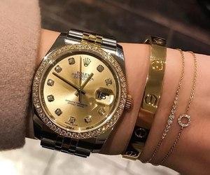 luxury, rolex, and bracelet image
