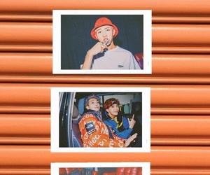 aesthetic, jin, and orange image