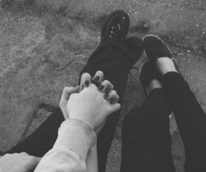 blackandwhite, couples, and lesbian image