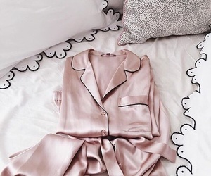 pink, pajamas, and rose gold image