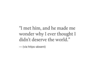 everything, him, and love quotes image