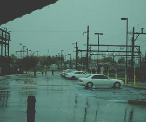 blue, city, and sad image