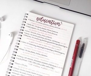 education, life, and notebook image