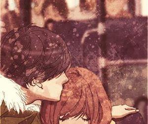 anime, ao haru ride, and love image
