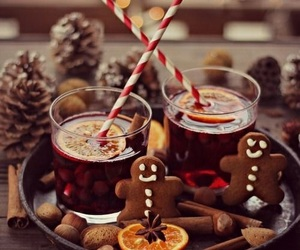 christmas, winter, and drink image