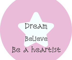 be, believe, and Dream image