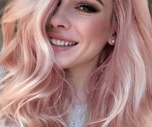 cutie, girl, and pink image