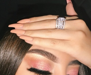 makeup, eyeshadow, and ring image