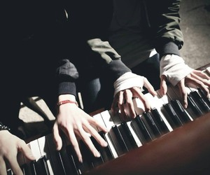 bts, piano, and jungkook image