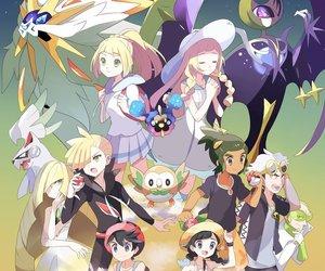 art, lillie, and pokemon image