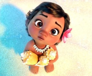 moana, disney, and baby image