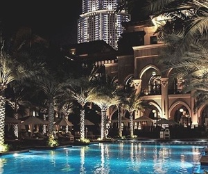 luxury, Dubai, and pool image