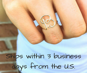 etsy, free shipping, and dainty jewelry image