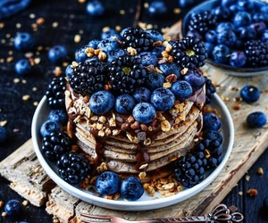 blackberry, breakfast, and food image