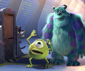 disney, funny, and monsters image