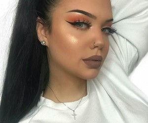 goals, lady, and makeup image