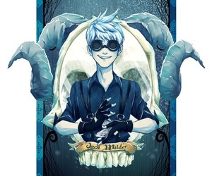 fan art, jack frost, and rotg image