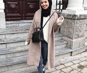 hijab, modest, and hijab fashion image