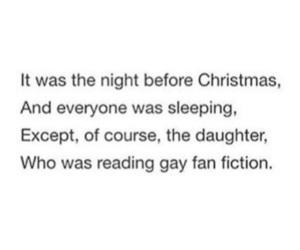christmas, otp, and fandom image