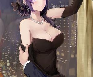 anime, ecchi, and girl image