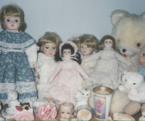 dolls, pastel, and toys image