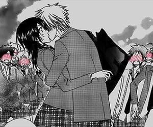 anime, kiss, and manga image