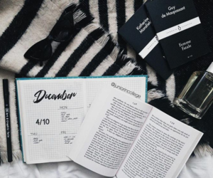 book, cozy, and december image