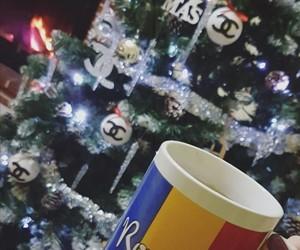 art, holidays, and mug image