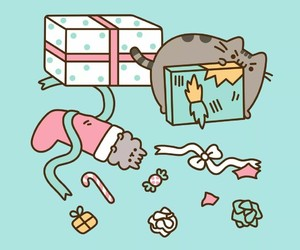 candy, christmas, and presents image