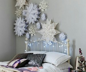 blanket, decoration, and christmas image