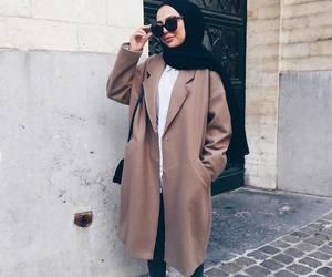hijab, girl, and vogue image