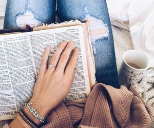 book, comfort, and style image