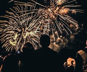 fireworks, goals, and lights image
