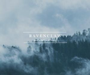 hogwarts, ravenclaw, and hogwarts house image