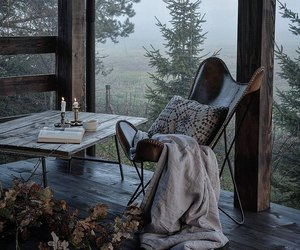 autumn, book, and home image