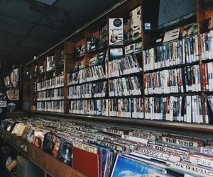 music, store, and vintage image