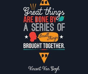 quotes and vincent van gogh image
