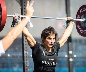 fisher, fit, and fitness image